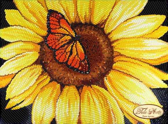 """Рисунок на ткани для вышивания бисером """"Огненные крылья"""", фото 2"""