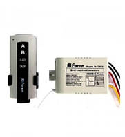 Выключатель дистанционный Feron TM75 2 канала 1000 W 30м White