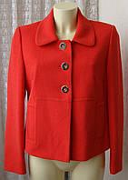 Жакет женский яркий модный демисезонный бренд Marks&Spencer р.46 5231