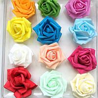 Розы из фоамирана.1шт