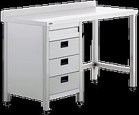 Рабочий стол с ящиками для лабораторных, операционных и смотровых кабинетов Uzumcu 40836