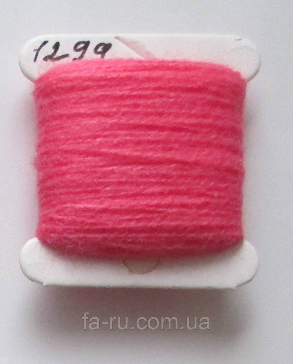 Акрил для вышивки: розовый очень яркий