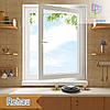 "Одностворчатое поворотно-откидное окно Rehau 70 Eco 800x1400 ""Окна Маркет"""