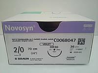 Новосин Novosyn, 2/0 - 37мм/TAPER - 70см  2/0 - 30мм/TAPER - 70см  2/0 - 26мм/CUTTING