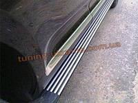 Пороги боковые оригинал на VolksWagen Touareg 2006-10