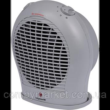 Тепловентилятор (2 кВт, 3 режими: холодне / тепле / гаряче повітря, індикація роботи, захист від пер ViLgrand