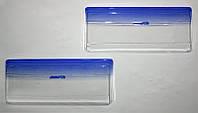 KORRIDA - Защита фар, ударопрочный пластик с элементами шелкографии на ВАЗ 2104-2105-2107, Blue Line, E-65