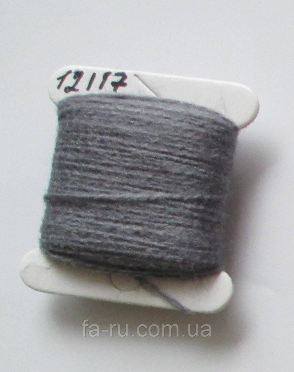 Акрил для вышивки: пепельно-серый