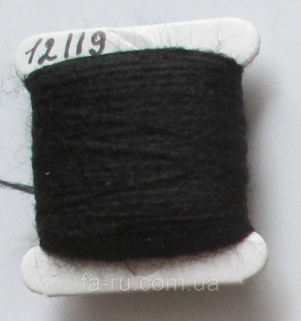Акрил для вышивки: черный