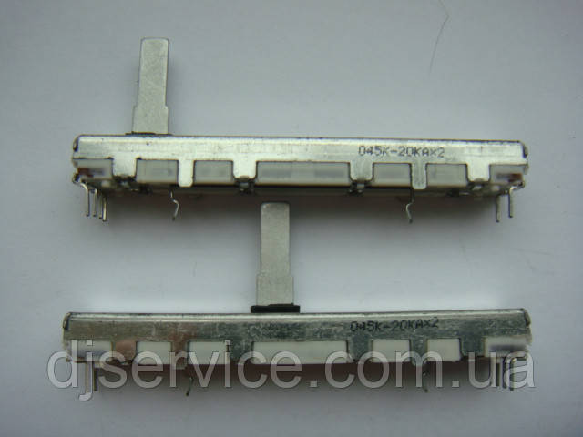 Фейдер ALPS 60mm  A20K для пультов  SOUNDCRAFT Notepad-12FX