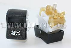 Кнопка клавішна включення вентилятора отопітеля