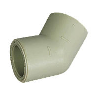 Угол полипропиленовый 40х45* Tebo серый
