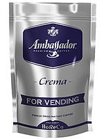 Кофе растворимый Ambassador  Crema для кофейных автоматов, пакет 200 г