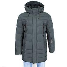 Куртка чоловіча Kings Wind 1W44 HAKI 100% поліестер. Утеплювач: Біо пух 54(Р)