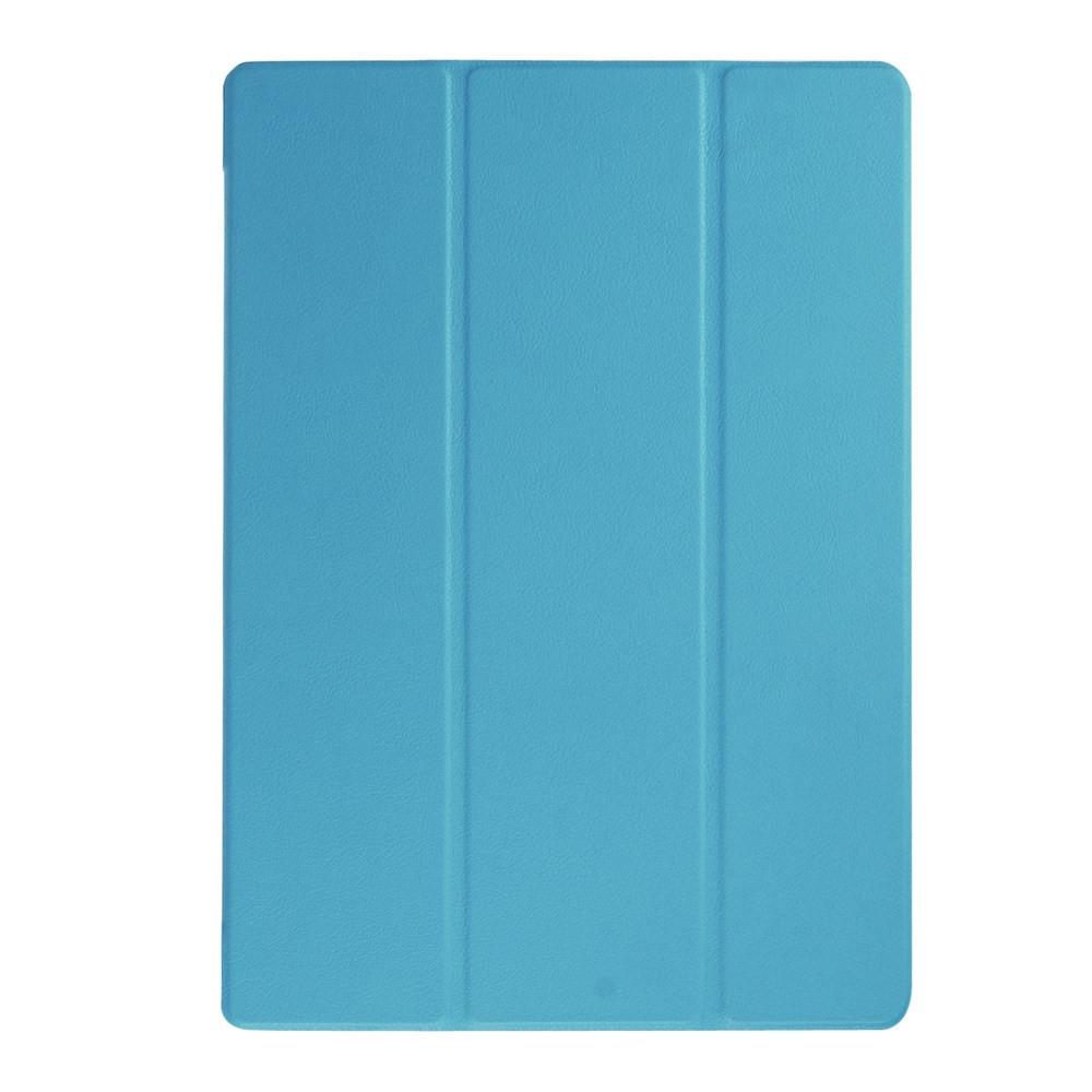 Чехол подставка Tri-fold для Microsoft Surface Pro 4 голубой
