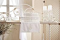 "Кухонное полотенце  для рук ""ТМ"" GUL GULER ""YENI ARMA"" vanilla  30х50 хлопок 100%"