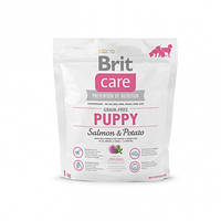 Brit Care GF Puppy Salmon & Potato 1 кг,  с лососем для щенков всех пород