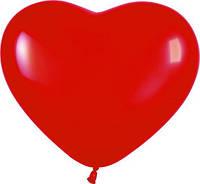 """Воздушный шар """"Сердце"""" 10"""" красное"""