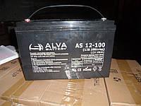 Аккумулятор гелевый AS12-100 100Ач, 12В GEL