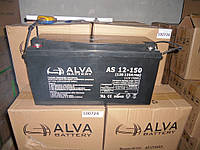 Аккумулятор гелевый AS12-150 150Ач, 12В GEL