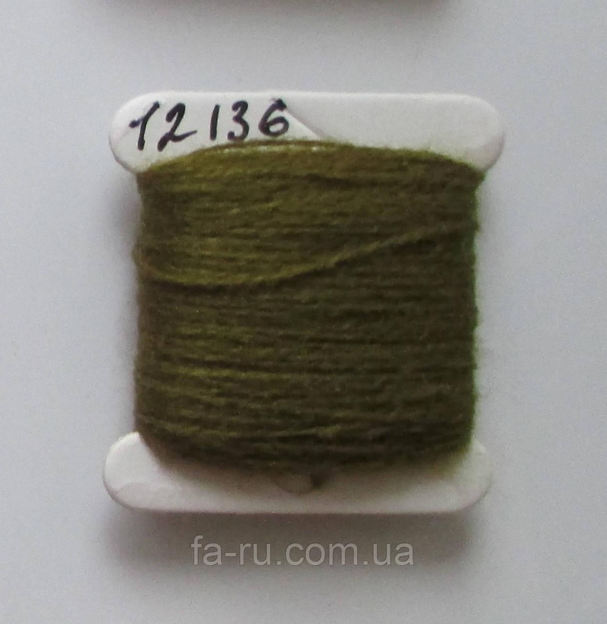 Акрил для вышивки: мох