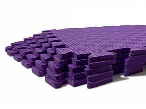 Lanor Детский мягкий пол-пазл 500*500*12мм EVA фиолетовый