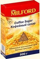 Сахар для кофе тростниковый MILFORD 500 г  песок