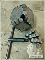 Патрон токарный d=100 мм. Патроны токарные трехкулачковые