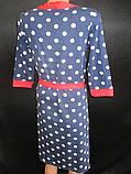Трикотажные халаты с ночнушкой женские., фото 3