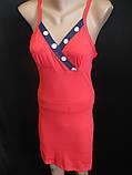 Трикотажные халаты с ночнушкой женские., фото 5