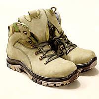 Тактические ботинки Олива нубук, фото 1