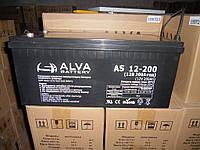 Аккумулятор гелевый AS12-200 200Ач, 12В GEL