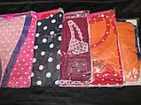 Трикотажные халаты с ночнушкой женские., фото 7