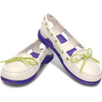 Женские Crocs Beach Boat Shoes Ladies (white)