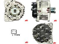 Генератор для Opel Vivaro 2.0 cdti. 12 V (Вольт) 150 А (Ампер). Новый генератор на Опель Виваро 2.0 цдти.