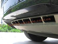 Накладка на бампер передняя VolksWagen Touareg 2010+