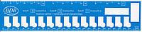 Органайзер картонный для мулине (набор - 5 шт)