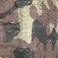 """Маскировочная сеть S&S серия Basic, """"Бутан"""", размеры: 3х6 м"""
