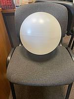 Шар 32 см или две полусферы вес 585 грамм ровный качественный