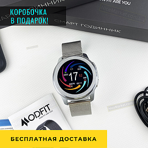 Женские наручные часы  Modfit V1V All Silver Женские сенсорные часы .Женские Электронные часы .Смарт часы