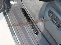 Накладки на пороги для VolksWagen Touareg 2010+