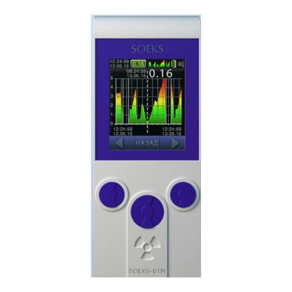 бытовой дозиметр-радиометр