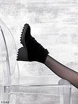 Осінні черевики жіночі на підборах 7110 (СБ), фото 3