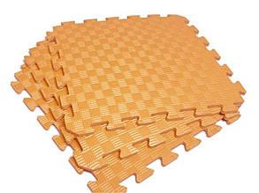 Lanor Детский мягкий пол-пазл 500*500*12мм EVA оранжевый