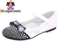 Демисезонные туфельки для девочки торговой марки Шалунишка