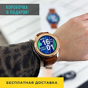 Женские сенсорные наручные часы Modfit V1V Brown-Cuprum Смарт часы . Электронные часы
