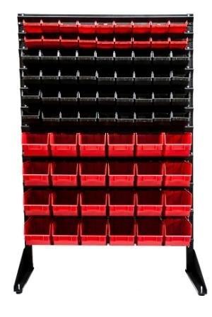 Cтеллаж для метизов с ящиками