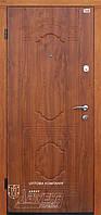 Двери входные ТМ Абвер модель Рональда двухступенчатый гнутый профиль