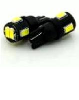 Светодиодная лампочка с линзой t10 w5w 6smd 5630