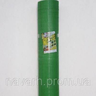"Сетка пластиковая (""птичка"") 12мм х 14мм 2м х100м зеленая"